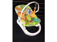 Fisher Price Fun 'n Fold baby Bouncer Chair