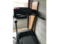 PROFFESIONAL GYM TYPE TREADMILL - FULLY MOTORISED & ELECTRONICALLY CONTROLLED WITH HEAVY DUTY RUN MA