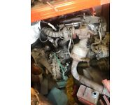 Low mileage mk6 2 litre transit engine gearbox turbo injectors duratorque must go need the space