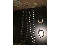 Unisex shamballa necklaces and bracelets
