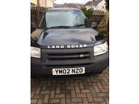 Land Rover freelander td4 looks like a commercial model at present , very good condition
