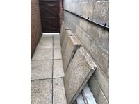 """16 PAVING/PATIO SLABS - 24""""x30"""" - WAITING TO GO!!!"""