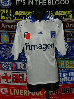 4/5 Auxerre adults XXL 1998 rare retro football shirt jersey trikot maillot image