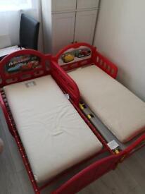 Organic cot mattress x 2 from little green sheep