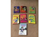 7 Horrid Henry books in paperback