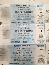(ONE TICKET LEFT) BRING ME THE HORIZON TICKETS Katoomba Blue Mountains Preview