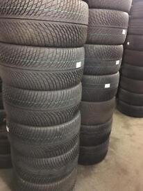 Part worn and new winter tyres best price in London Romford Essex winter tyre fitting service ava