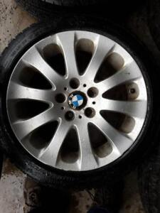 4 Used BMW Wheels and Tires 225/45/17 (run flat tires)