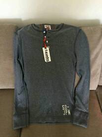 Brand new mens superdry top