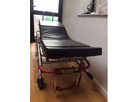 stretcher Bed used for patients and massage.