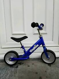Kids Tiny Bike Running, Training, Balance First Bike blue