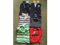 Selection of boys jumpers - 3 to 18m
