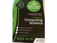 SQA past paper book for Computing science