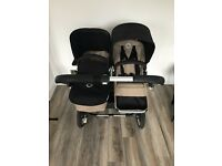 Bugaboo Donkey double buggy inc carrycot