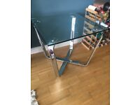 Glass coffee / side table - used, v good condition