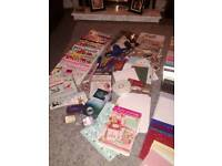 Lots of card making items