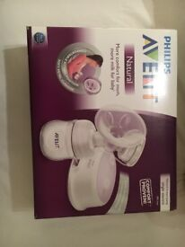 Philips Avent electric breast pump. NEW