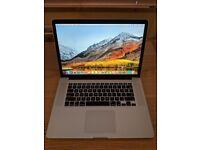 "Macbook Pro retina 15"" display late 2013"