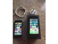 I phone 5 &5s both for £150