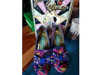 Size 6 irregular choice shoes