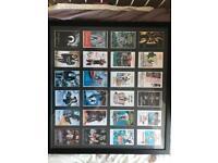 James Bond movie card frame