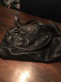 Ladies Black Leather Handbags