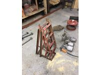 Old pair strong car ramps