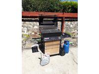 VANCOUVER FIESTA portable gas bbq