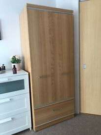Wardrobe with Storage and Dressing Mirror!