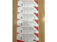 Anthony Joshua v Joseph Parker Tickets Floor Seats x 6