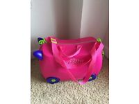 Pink Trixie Trunki - Toddler Travel Case - USED