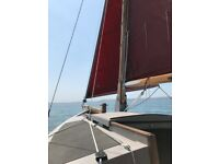 Cornish Crabbers Mk 1 Shrimper 19 sailing boat