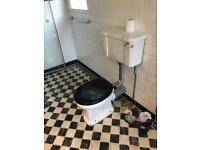 Old fashion toilet