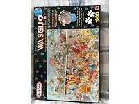 Various Wasjig jigsaws
