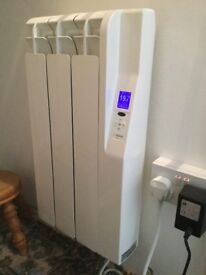 2 Electric Radiators with Remote Control by Rointe