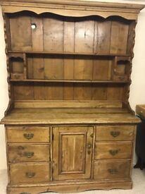 Antique Pine Dresser (2 Parts)