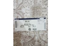 Wwe raw ticket in Manchester 6th november great seat