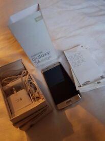 Samsung s6 edge platinum gold