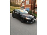 Audi A3 S Line 61 plate 1.6