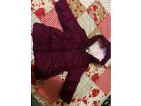 Cosy winter jacket 12-18months