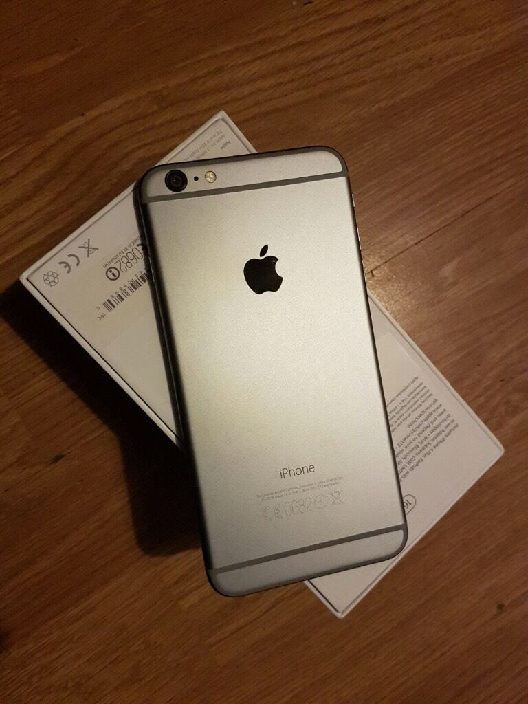 iphone 6 plus space grey 16gb on 02 in inverness highland gumtree. Black Bedroom Furniture Sets. Home Design Ideas