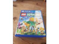 Hardly used PS4 Lego Worlds
