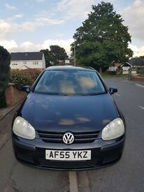 Excellent runner. Lady owner driver. 72K Low mileage for 2005 VW GOLF FSI