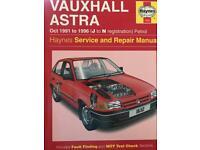 Astra Mk3 Haynes service manual