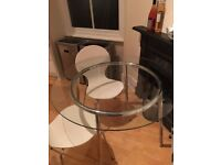 MUST SELL THIS WEEK Glass Kitchen/Dining Table & 4 Chairs - originally over £300