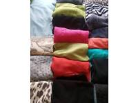 Mixed jumpers and cardigans. Size 18/20