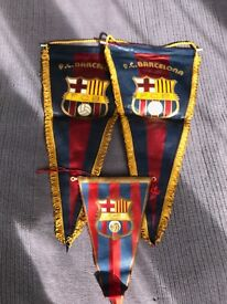 1980 FC Barcelona Pennants-offers accepted