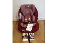 New Joie i-Anchor Advance Baby Car Seat (Merlot) From 0-4 years ! Amazing Offer!
