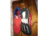 Adidas glide boost running shoes team GB limited edition uk 12