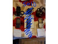 2 SONY ERRICSON PHONES FULLY WORKS, WITH CHARGERS